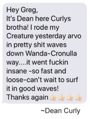 Testimonial by Dean Curly